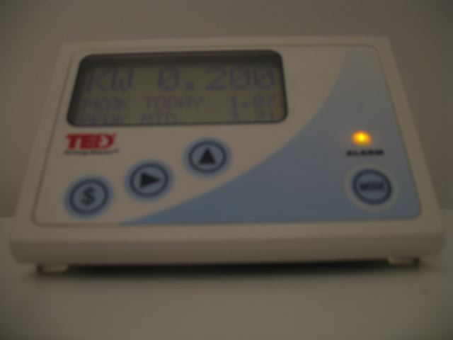 Our TED Energy Monitor
